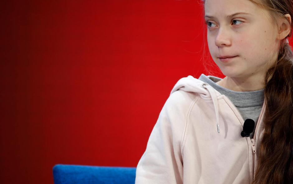 Greta Thumberg a Davos per l'emergenza ambientale