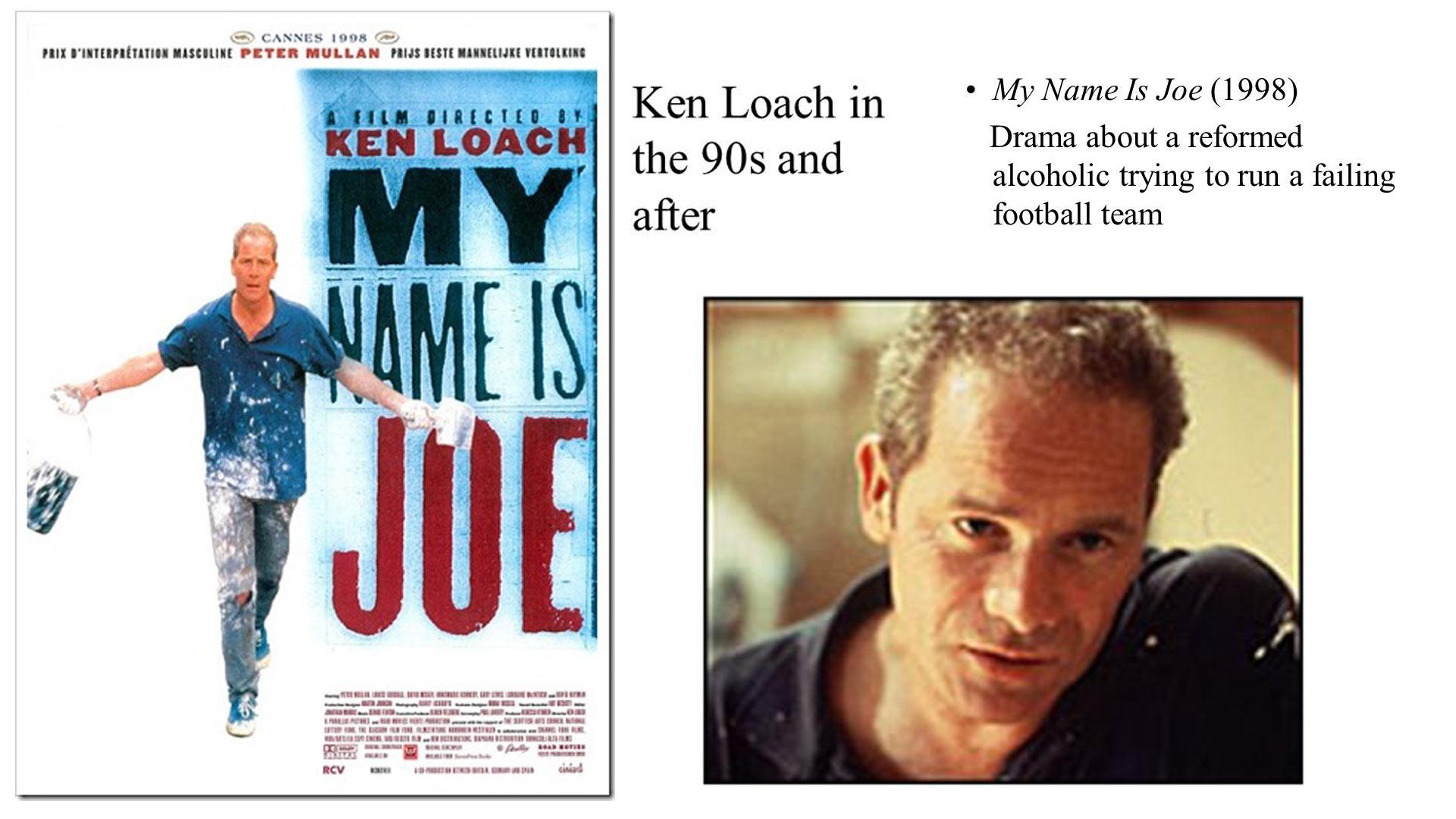 My name is Joe Film 1998