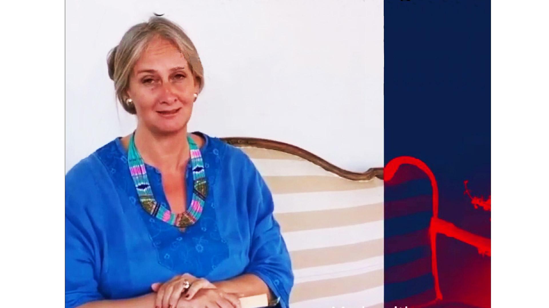 Chiara Modìca Donà delle Rose - Direttrice Biennale internazionale Arte contemporanea sacra