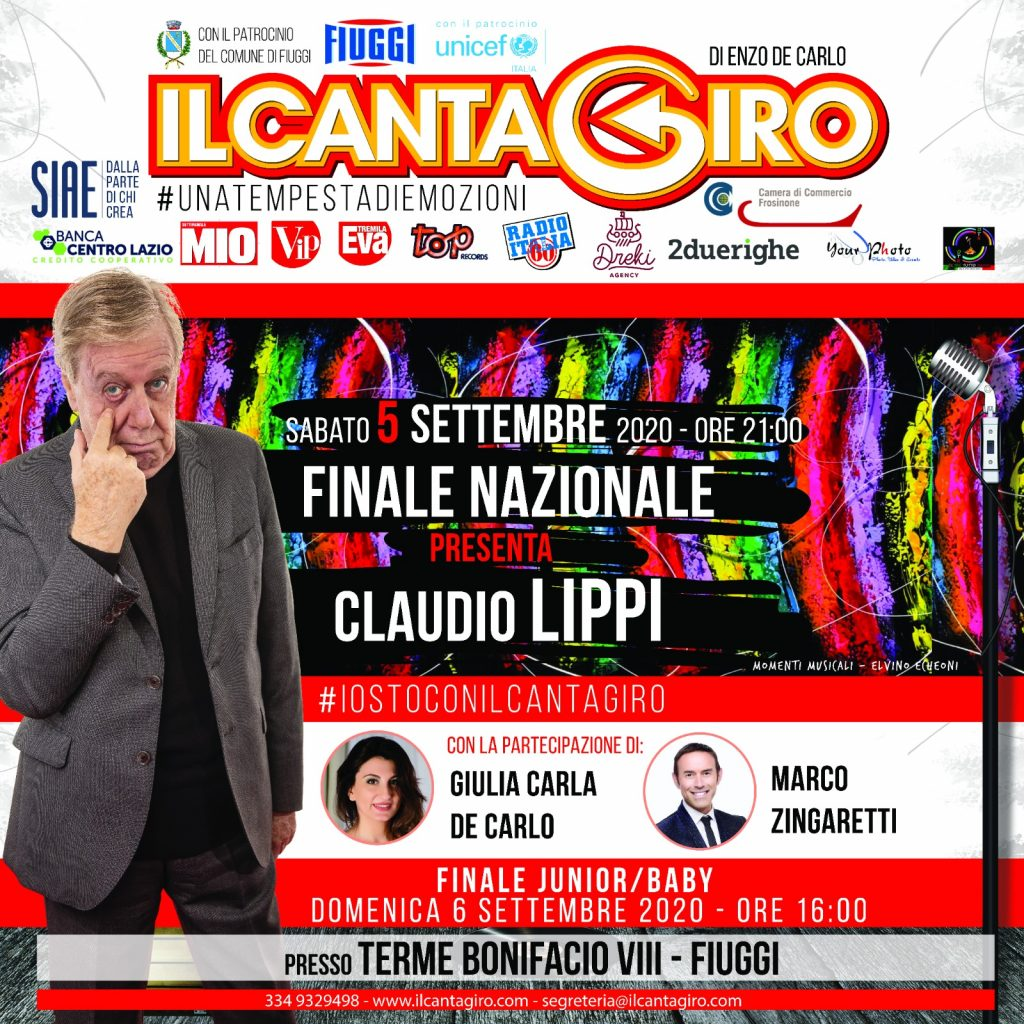 Locandina Cantagiro 2020