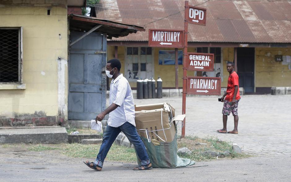 Lagos Nigeria primo-caso coronavirus africa sub saariana